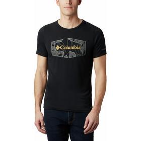 Columbia Terra Vale II T-shirt Heren, zwart